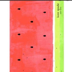 NWT kate spade oversized watermelon beach towel